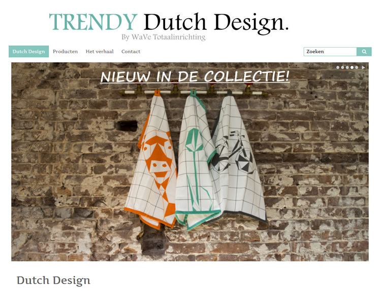 Trendy Dutch Design